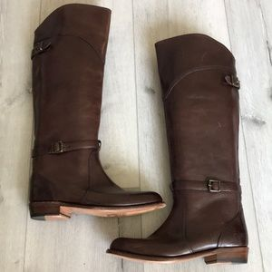 Frye Riding Tall Leather Boots